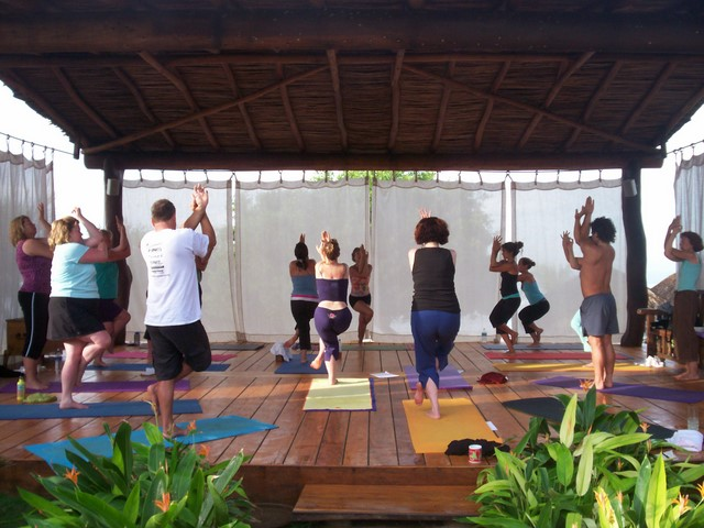Sally M.: Jennie Lee Yoga Therapy retreat participant