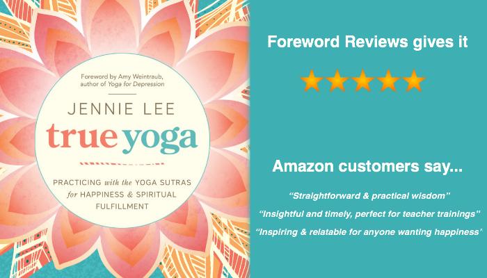 True Yoga book by Jennie Lee