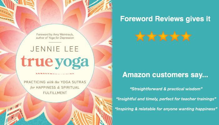 True Yoga book by Jennie Lee