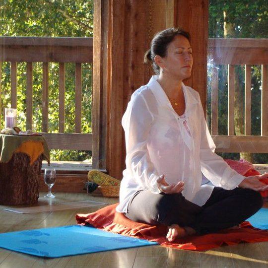 Sequoia Retreat Center 2011 - meditate